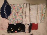 Bundle of girls clothes age 9-12 months