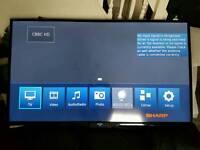 """Sharp 60"""" big smart 3D TV FHD LC60LE651K"""