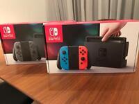 Nintendo Switch brand new last one (grey) left