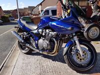 SUZUKI BANDIT 600S. 2003 1 OWNER FROM NEW WITH ONLY 4200 MILES VGC
