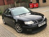 2006 SAAB 9-3 93 2.0 PETROL AUTOMATIC AERO SALOON 5 SEAT TOP SPEC NAVIGATION GREAT DRIVE N MONDEO 95