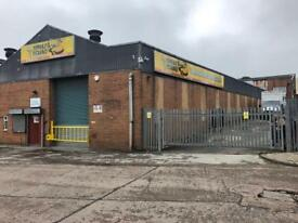 Licenced Breaker Yard and Car Body Repairs Garage for sale 7yr lease 15000 sq ft unit & yard