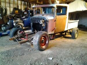rat rod Cab and frame only 1400$ sold box