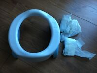 POTETTE PLUS POTTY AND TOILET SEAT for sale