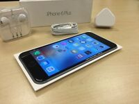 Boxed Space Grey Apple iPhone 6 Plus 16GB On Vodafone / Lebara Networks Mobile Phone + Warranty