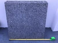 8 x Granite paving slabs