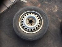 FORD TRANSIT CONNECT MK1 2002-2013 SPARE WHEEL & TYRE 195/65 R15 REF01