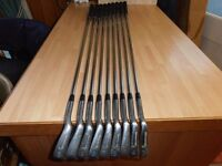 "A Full Set Of "" BROWNING "" 9 IRONS. 3 TO S / W."