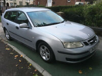2006 06 REG SAAB 93 LINEAR 1.9 TiD SPORTSWAGON 6 SPEED TURBO DIESEL FULL HISTORY