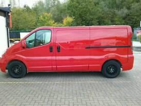 Vauxhall Vivaro 2005 lwb 1.9 DTI van