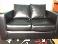 Leather Sofa - Good Condition - Pick Up Only - Living Room - Furniture