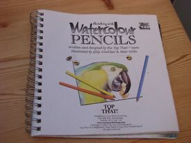 Watercolour Pencils little book with loads of tips & help to get you drawing. Handy size £1. Torquay