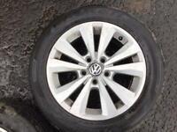 """16"""" VW TORONTO MK6/7 GOLF, VW CADDY VAN ALLOY WHEELS ALLOYS TYRES WHEELS RIMS PCD 5 X 112 FITMENT"""