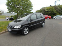 VAUXHALL ZAFIRA ENERGY 2.DTI DIESEL 7 SEATER MPV BLACK 2004 BARGAIN ONLY £950 *LOOK* PX/DELIVERY