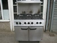 Falcon Dominator G2101 6 burner cooker gas LPG refurbished.