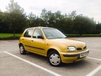 1997 P REG NISSAN MICRA 1.3 GX AUTOMATIC TAX & TESTED 5 DOOR HATCHBACK LOW MILEAGE ***BARGAIN***