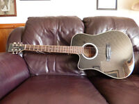 Tanglewood Electro Acoustic Guitar TW28SLBKCELH (Left Handed)