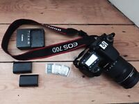 EOS 70D Touch Screen Digital SLR Wifi Camera 18-135mm STM f/3.5-5.6 Lens with Accessories