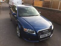 Audi A4 s line tdi estate full leather low miles