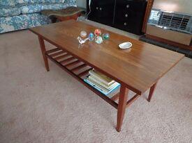 Coffee Table mahogany