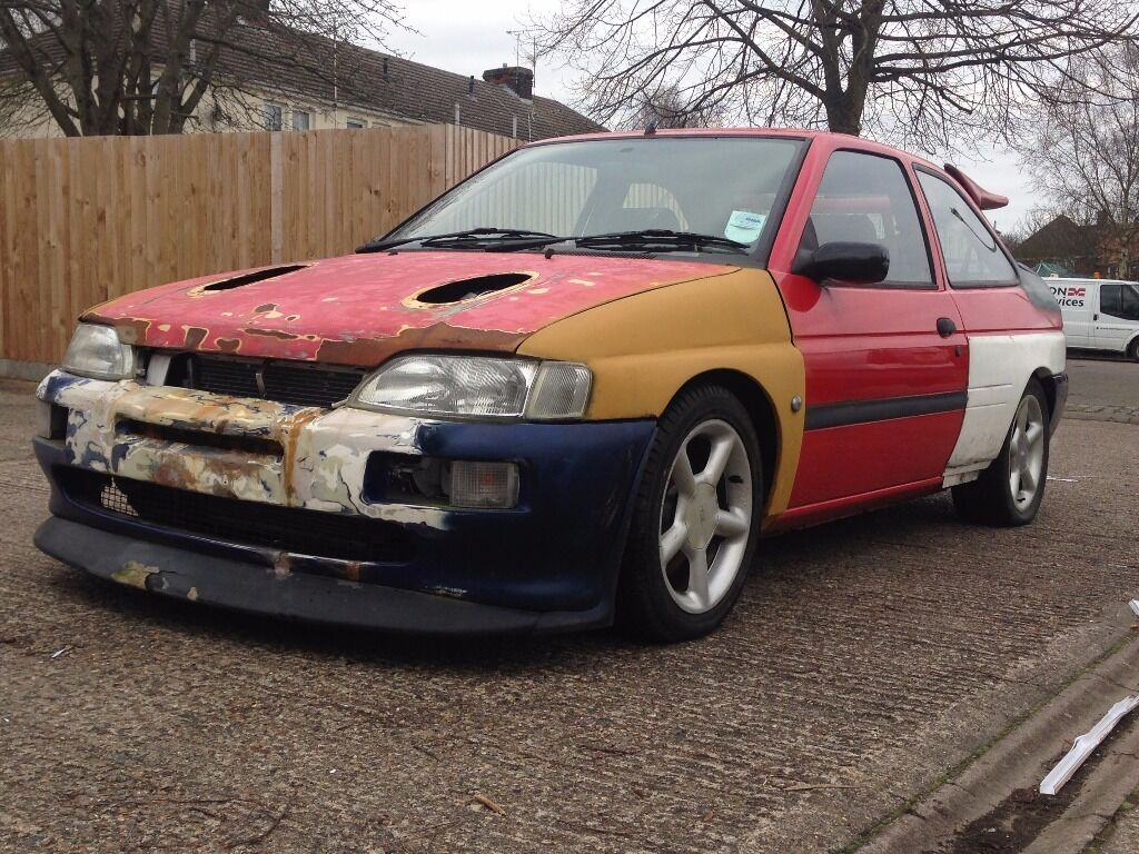 ford escort rs cosworth replica unfinished project spares or repair in bury st edmunds. Black Bedroom Furniture Sets. Home Design Ideas