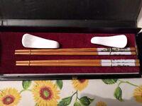 Chopsticks with box