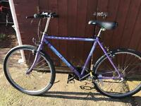 Mountain bike 18 speed also new tyres fitted