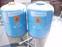 2 Camping Gas Canisters 450g