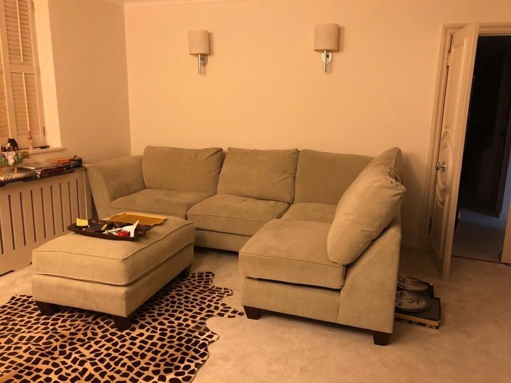 Admirable Esprit Fabric Corner Chaise Sofa With Storage In Kensington London Gumtree Squirreltailoven Fun Painted Chair Ideas Images Squirreltailovenorg