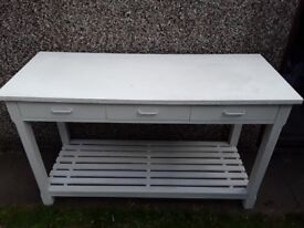 Side/hallway table. £50.00