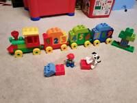 Lego duplo train
