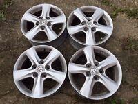 x4 Alloy Wheels 16'' Mazda 3TS