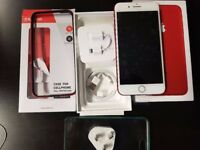 iPhone 7 plus red limited edition 256Gb UNLOCKED and EXTRA