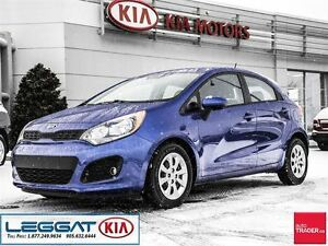 2013 Kia Rio LX+ - No Accident, One Owner, Heated Seats, Blueto