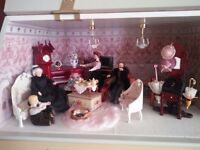 Collectors dolls house not suitable for under 12years old