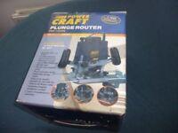 Powercraft Plunge Router (unused)