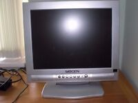 "MOGEN 15"" LCD TELEVISION - STAND INCLUDED WITH POWER LEADS BUT NO REMOTE"