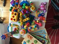 Un méga lot de jouet