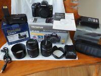 Olympus e-620 Digital Camera and Accessories