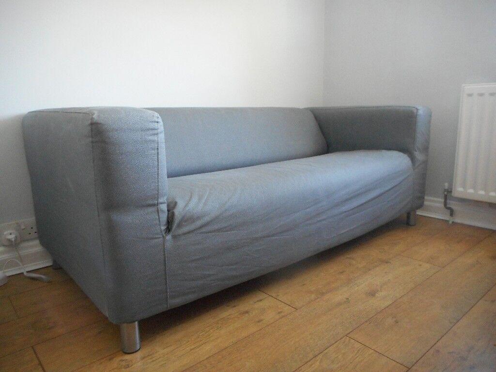 Ikea Klippan Sofa With Grey Cover In Twickenham London