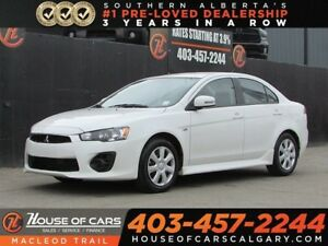 2017 Mitsubishi Lancer ES/ Back Up Cam / Bluetooth / Heated Seat