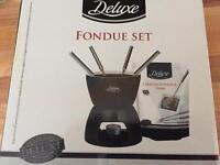 Deluxe fondue set