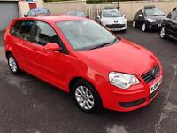 VOLKSWAGEN POLO 1.4 TDI DIESEL, 2009, £30 A YEAR TAX **FINANCE THIS FROM £20 PER WEEK**