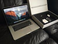 "MacBook Pro 15"" Retina i7 - 3 Months old with Warranty"
