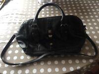 Diesel Black Leather Handbag