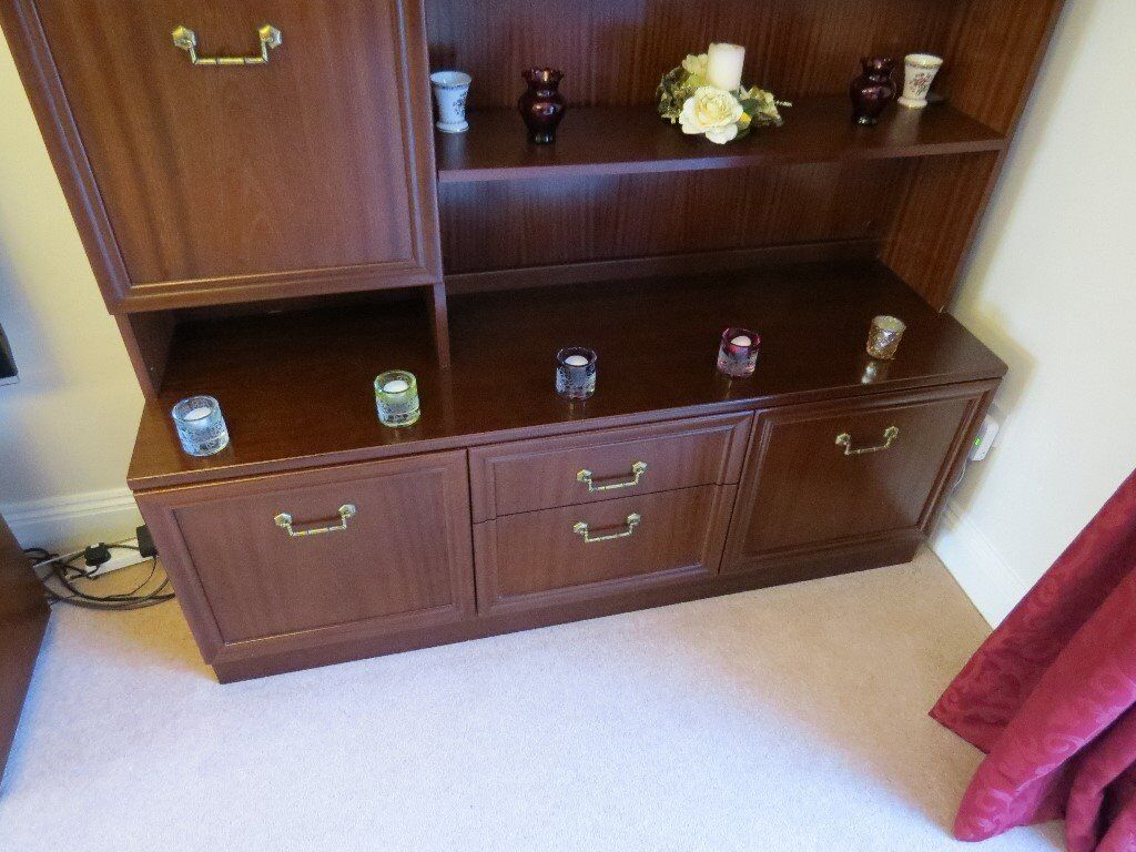 G Plan Garrick Mahogany Sideboard With Drinks Compartment Image 1 Of 4