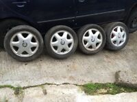 VAUXHALL ALLOYS FOR SALE - 4x100 fitment