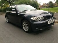AUTOMATIC BMW 1 series 2.0 petrol 5 door Low Mileage