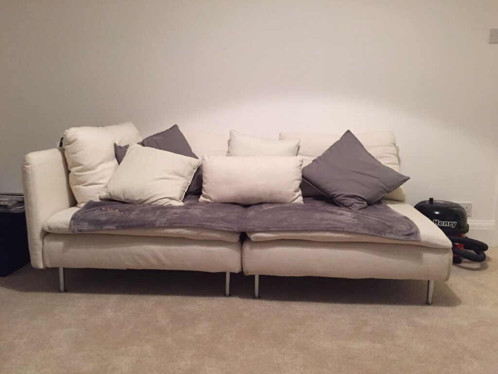 Soderhamn ikea modular sofa in cream : in Cheltenham, Gloucestershire : Gumtree