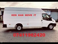 MAN WITH VAN. KEN KAN MOVE IT